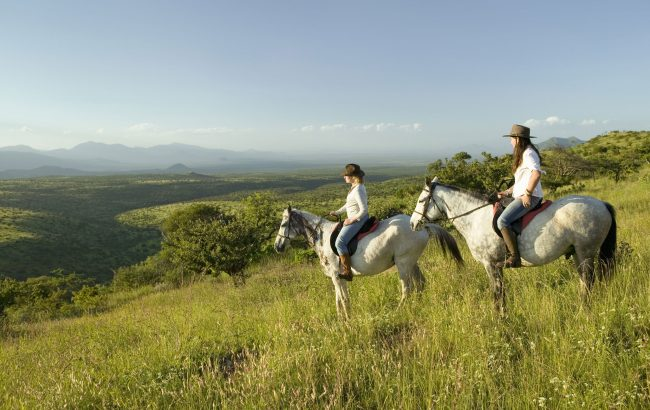 An African riding safari for the experienced