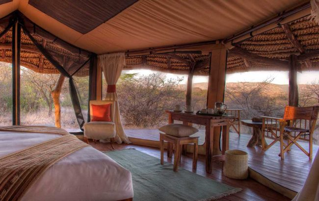 When is a tent not a tent? Luxury safaris in Africa and the reality of tented accommodation